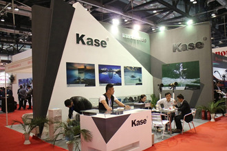 P&E2015:kase卡色展台展出多款滤镜系统