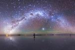 豪猪吉列姆和华华芽芽在地球与天空国际摄影大赛获奖