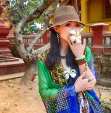 行摄柬埔寨两个D800女生的旅行