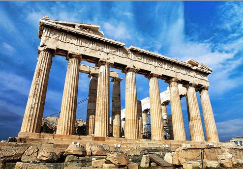 巍峨耸立的千年神庙――帕特农