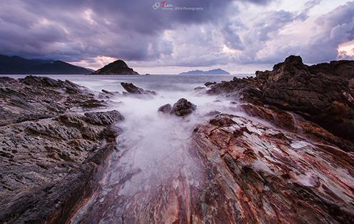 深圳拍海圣地――黑岩角