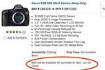售价不菲 海外电商更新5DS单反上市时间