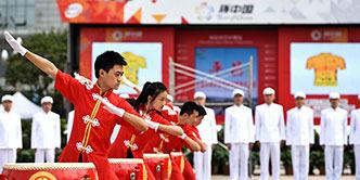 艺术团助阵2015环中国