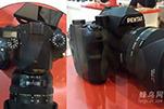 真机展出 宾得全画幅单反相机命名为K-1