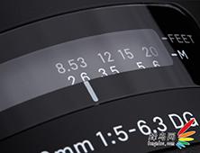 150-600mm f/5-6.3刻度