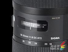 18-35mm f/1.8 DC侧面