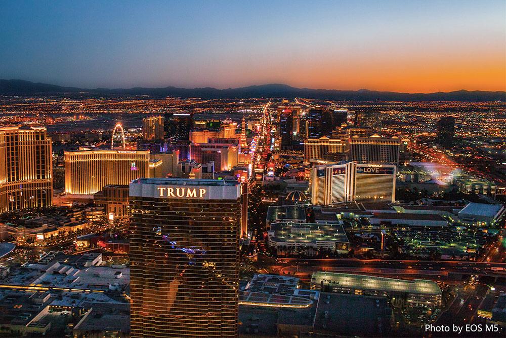 Las Vegas �C赌城夜景