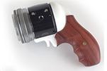 手枪造型扳机操控 奥林巴斯相机概念模块