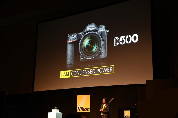 153点对焦4K视频 尼康DX旗舰D500发布