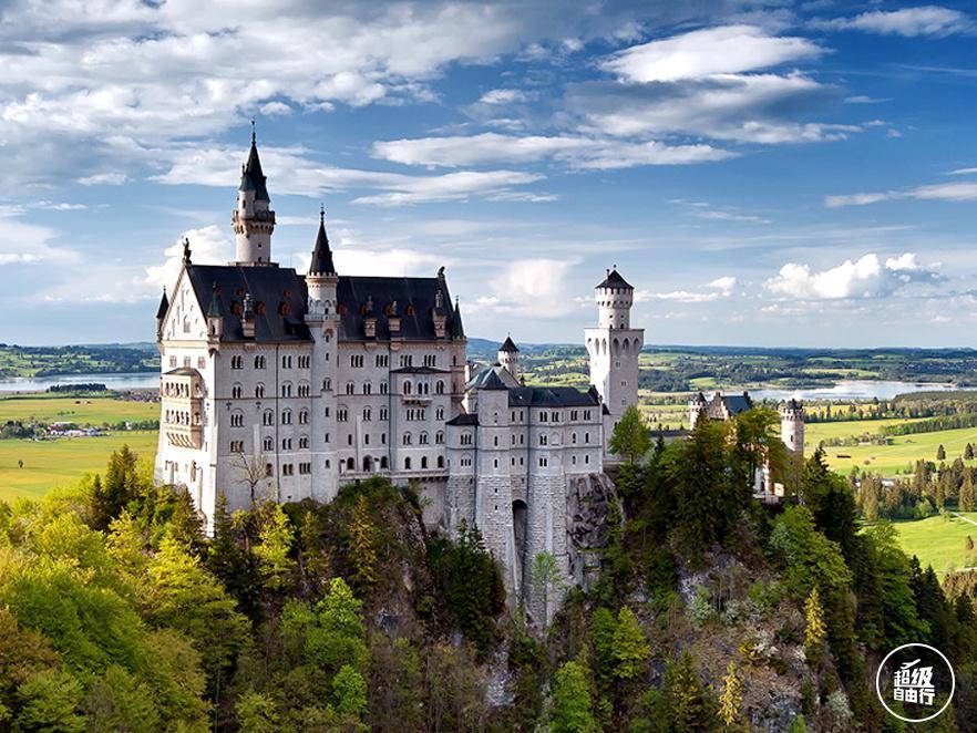 畅游令人醉迷的德国古堡