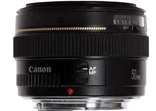 佳能EF 50mm f/1.4 USM镜头