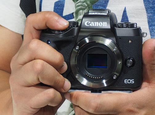 微型可换镜相机 佳能EOS M5现场图集