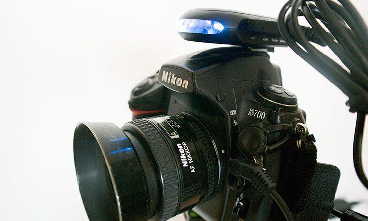玖拍单反伴侣和相机连接