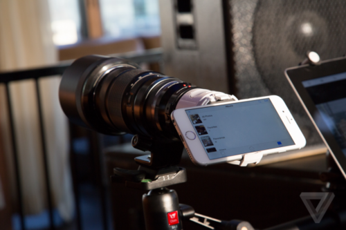手机媲美单反 奥林巴斯推299美元手机镜头